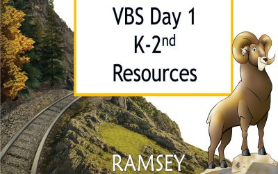 VBS Day 1 K-2nd Resources