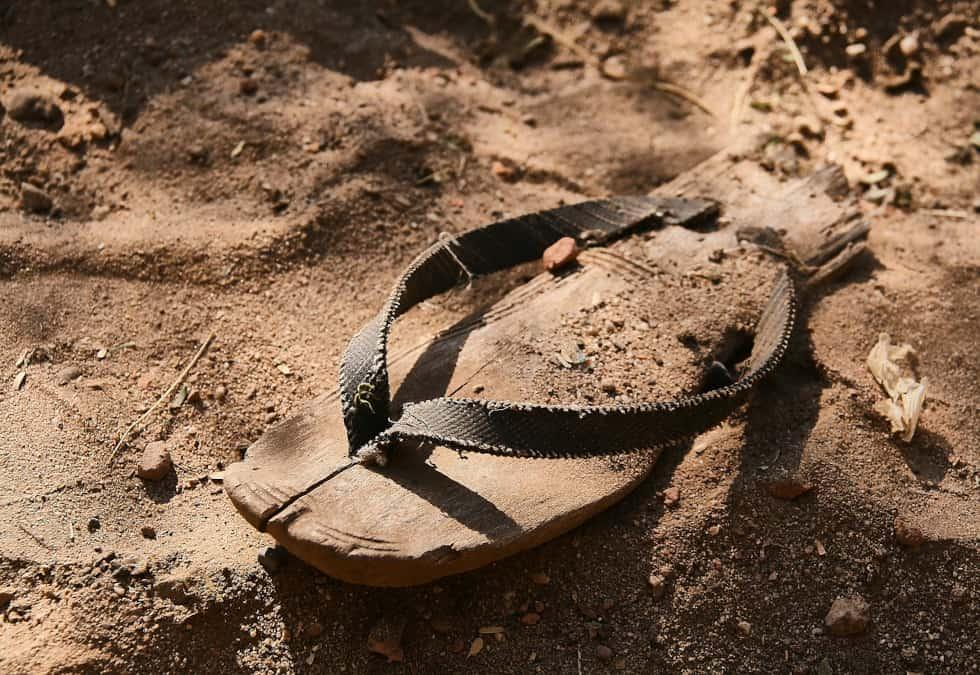 """Sermon in a bag: """"Foundational Footwear"""""""